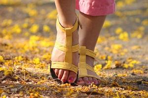 linguaggio dei piedi